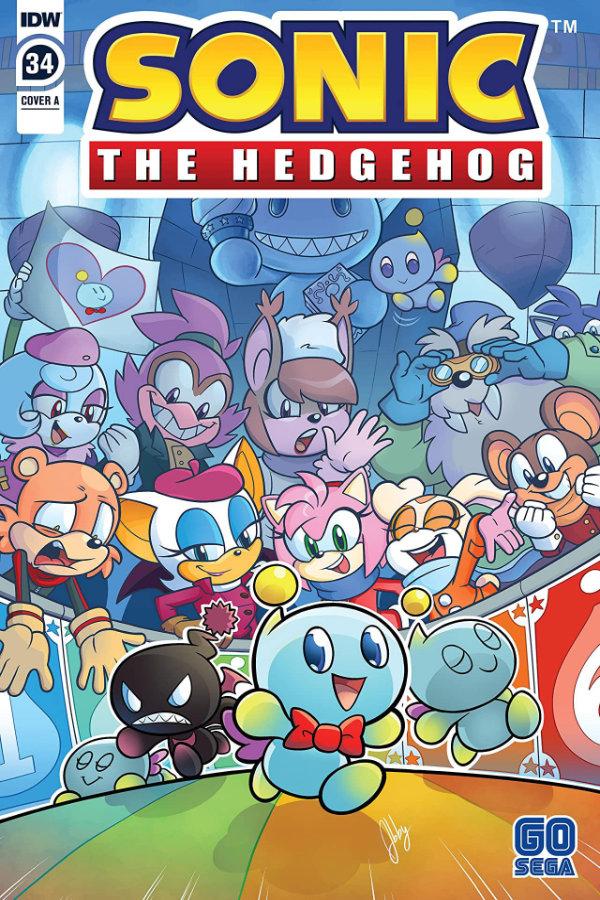 Sonic The Hedgehog (2018-) #34