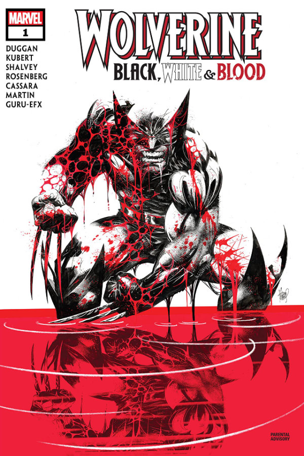 Wolverine: Black, White and Blood (2020-) #1