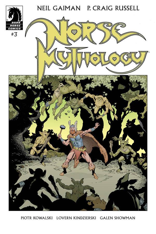 Neil Gaiman's Norse Mythology #3