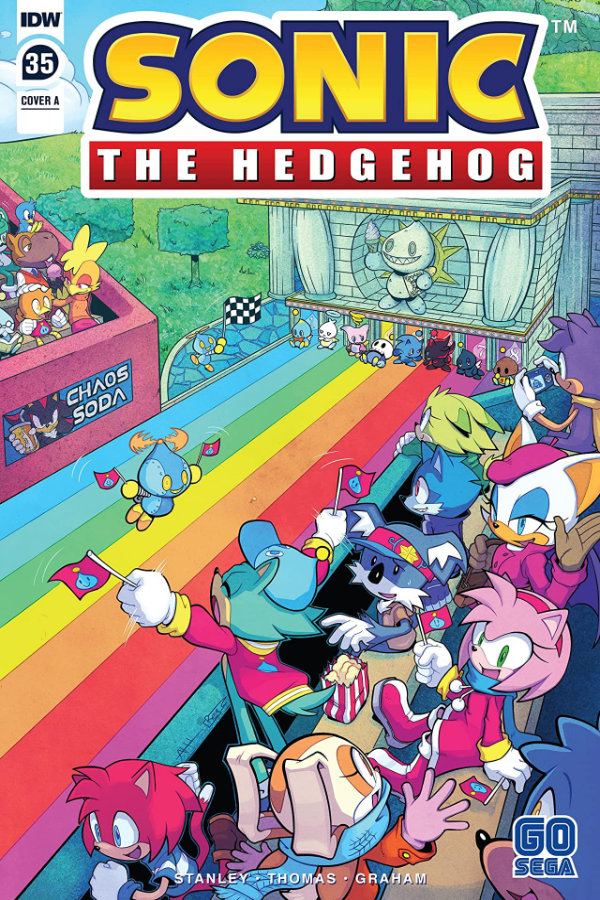 Sonic The Hedgehog (2018-) #35