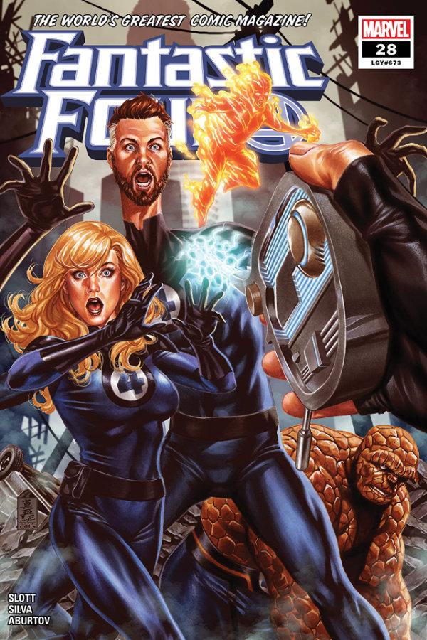 Fantastic Four (2018-) #28