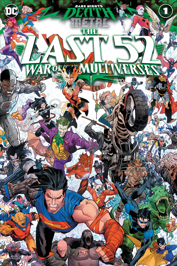 Dark Nights: Death Metal The Last 52: War of the Multiverses (2020-) #1