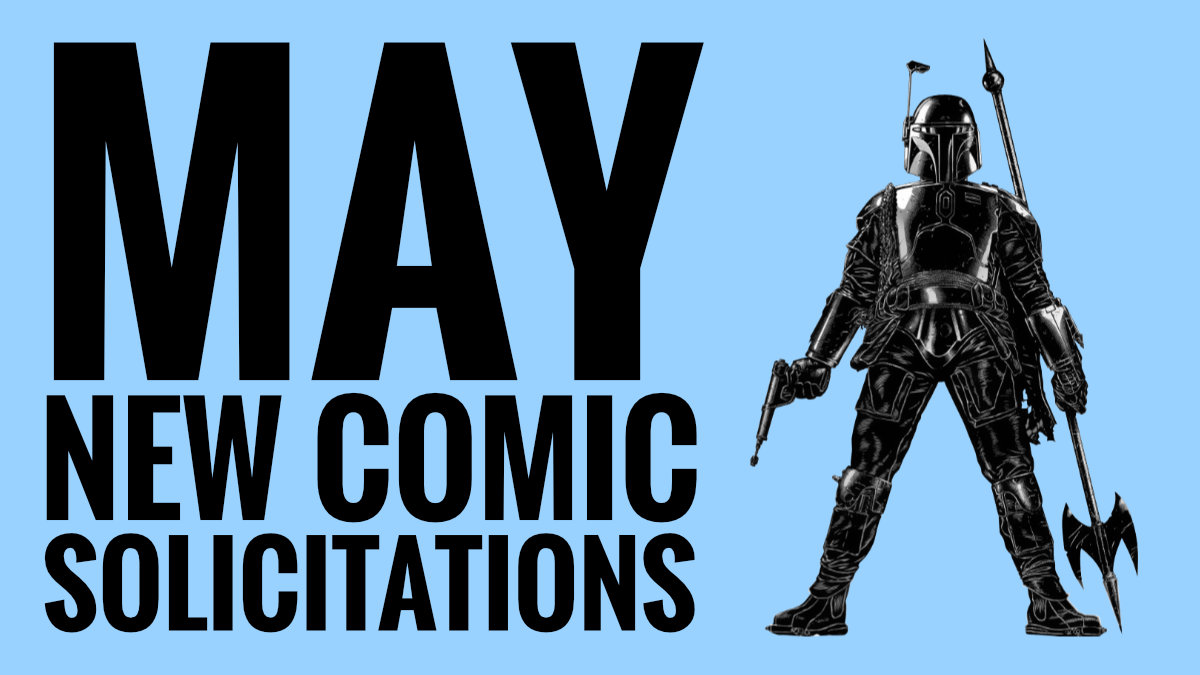 Comics and Graphic Novels for MAY 2021