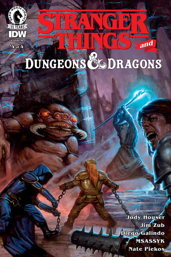 Stranger Things and Dungeons & Dragons #4