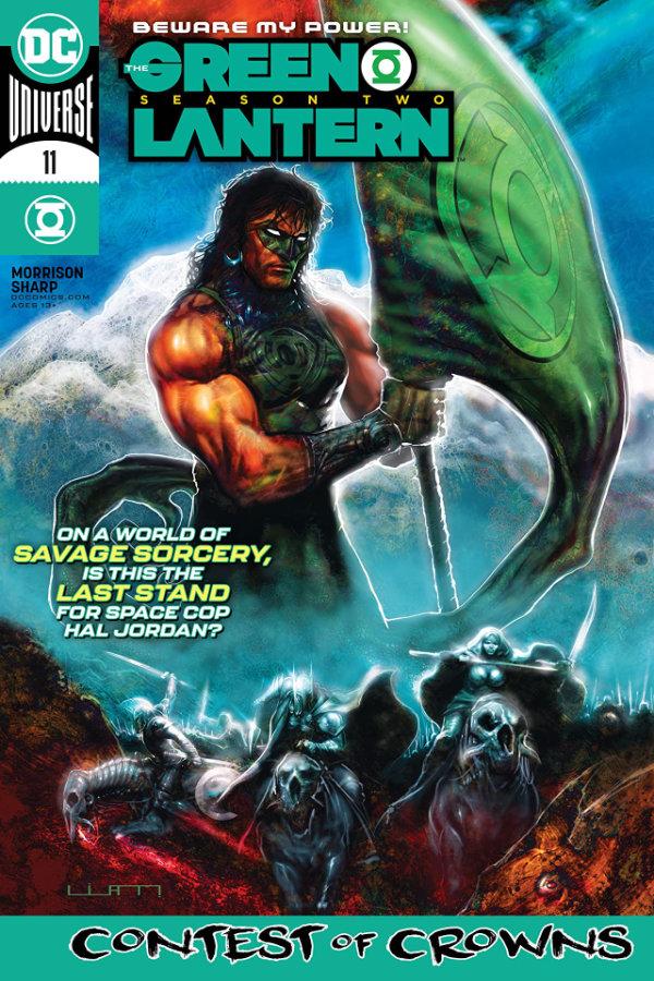 Green Lantern: Season Two (2020-2021) #11