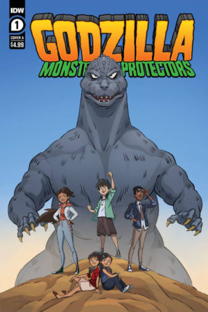 Godzilla: Monsters and Protectors #1