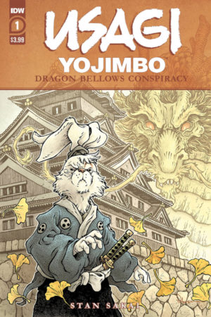 Usagi Yojimbo: Dragon Bellows Conspiracy #1