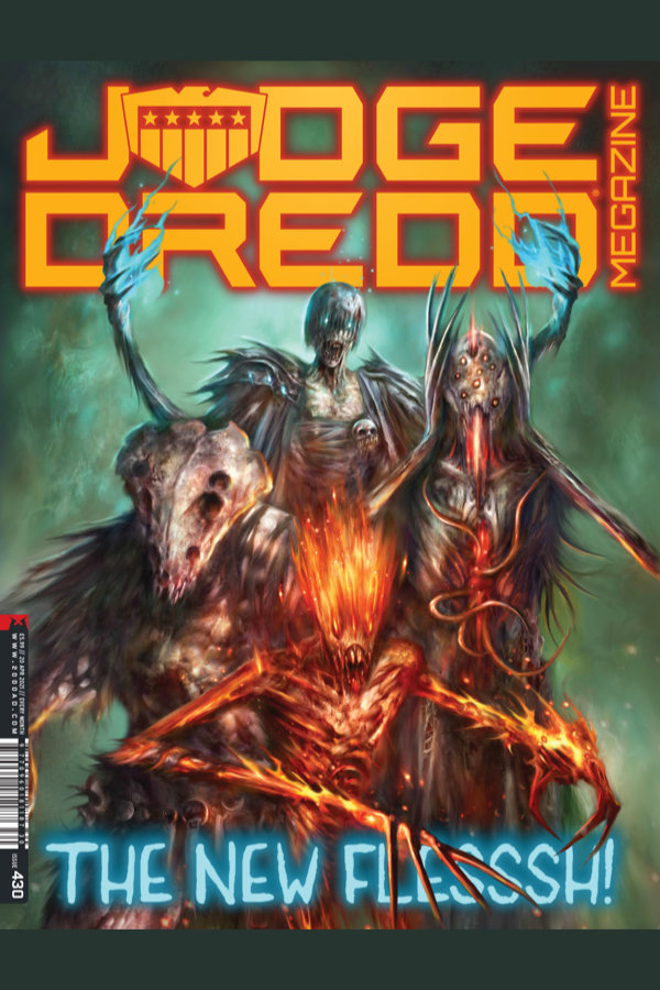 Judge Dredd Megazine #430