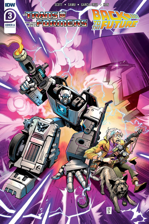 Transformers / Back to the Future #3