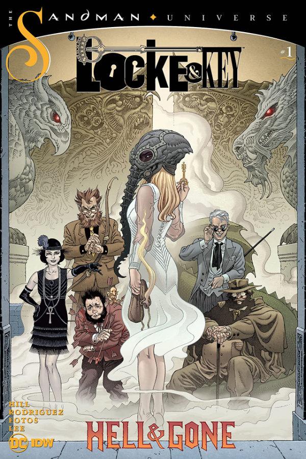 Locke and Key / Sandman: Hell and Gone #1