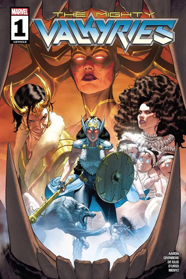 Mighty Valkyries (2021-) #1