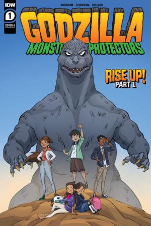 Godzilla: Monsters and Protectors #1