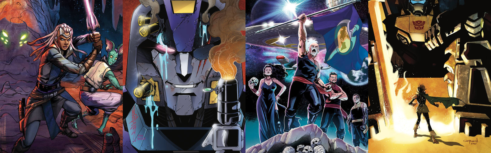 Solicitations: August 2021 – IDW Publishing