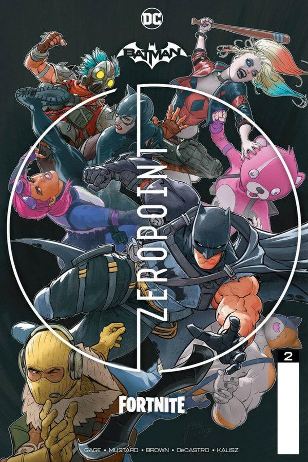 Batman / Fortnite: Zero Point (2021-) #2