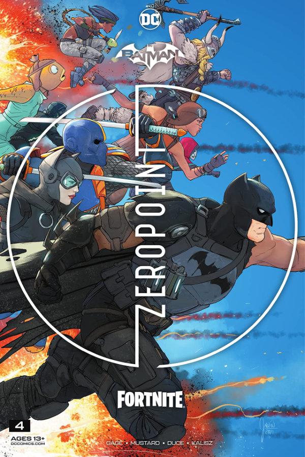Batman / Fortnite: Zero Point (2021-) #4