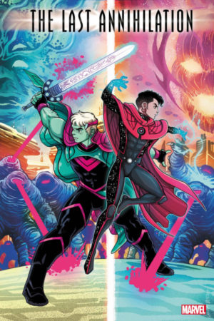 Last Annihilation: Wiccan and Hulkling