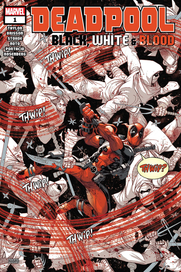 Deadpool: Black, White and Blood #1