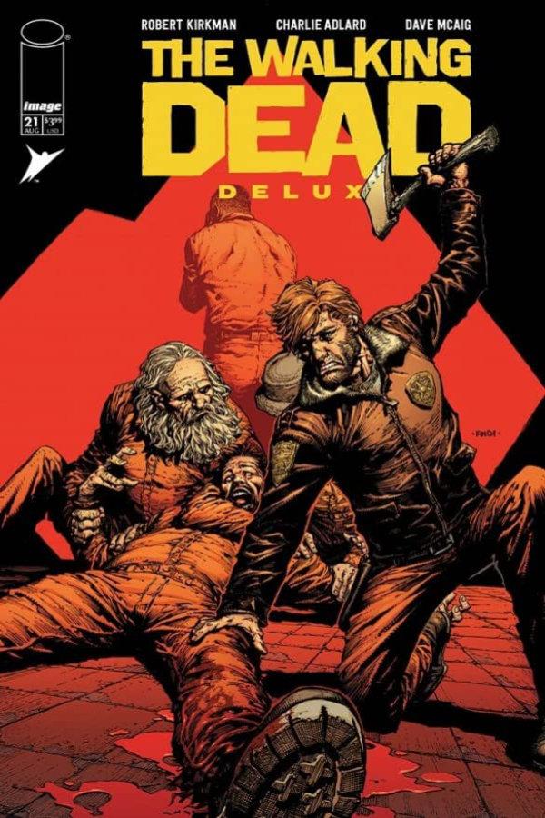 Walking Dead (Deluxe) #21