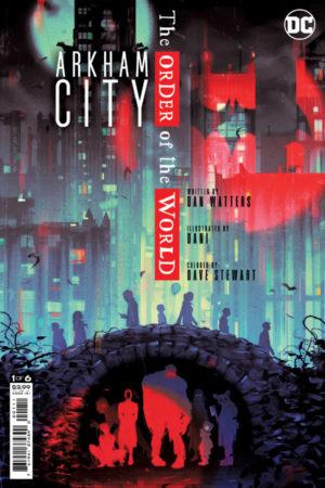 Arkham City: Order of the World #1