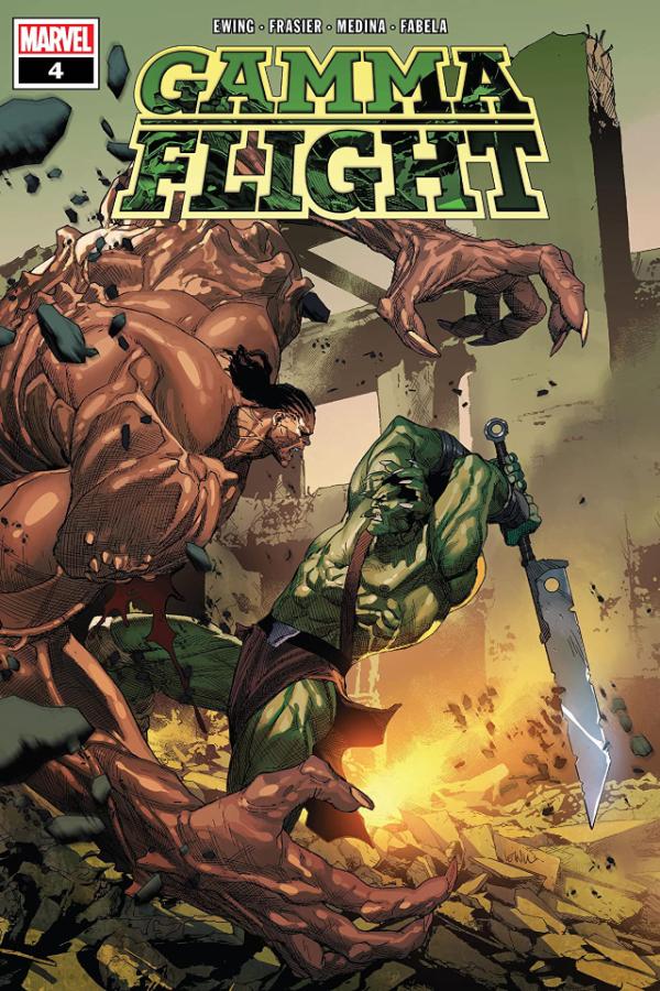 Gamma Flight (2021) #4