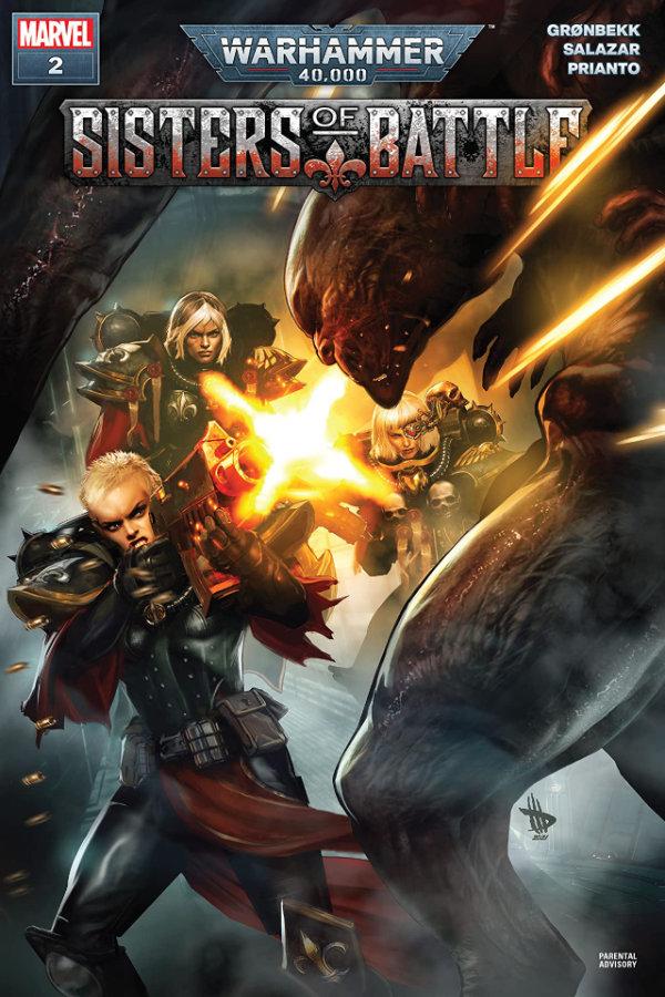 Warhammer 40,000: Sisters Of Battle (2021) #2