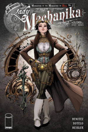 Lady Mechanika: Monster of the Ministry of Hell #1
