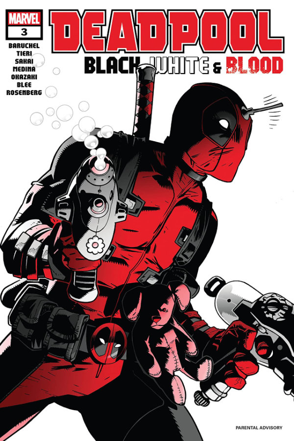 Deadpool: Black, White and Blood (2021) #3